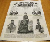 image of METROPOLITAN FASHIONS, LONDON AND NEW YORK,  Vol. XVIII, No. 4,  April 1886:; Any sizes of the Patterns herein specified will be sent post-paid on receipt of price.  E.L. Bliss, No. 365 Main Street, Hartford, Conn