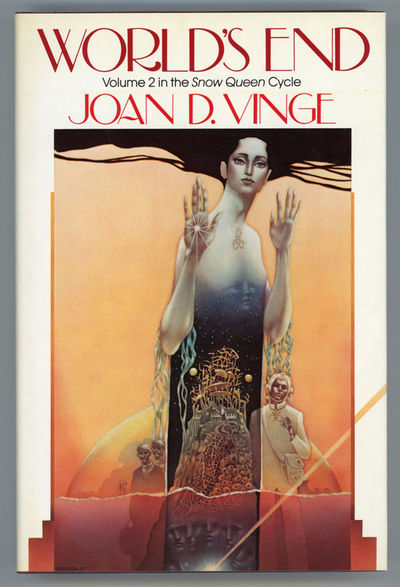 : Bluejay Books Inc., 1984. Octavo, cloth. First edition. One of 750 numbered copies signed by Vinge...