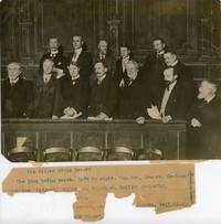 THE MYSTERY OF EDWIN DROOD: THE TRIAL OF JOHN JASPER. Original Photograph of the Jury Being Sworn, gelatin silver print, approximately 5 3/4 x 8 inches