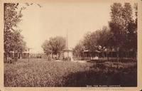 Plaza, Santa Fe New Mexico Cabinet Card