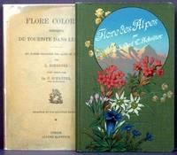 Flore Coloriee Portative Du Touriste Dans Les Alps
