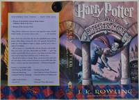 HARRY POTTER AND THE SORCERER'S STONE. Advance Reader's Edition. With a bookplate signed by J.K. Rowling.