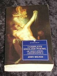 Complete English Poems of Education Areopagitica