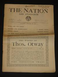The Nation and the Athenaeum: Volume CL. Issue No. 21: February 26th 1927