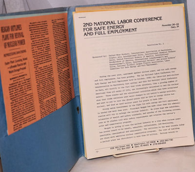 Gary, Indiana: the Conference, 1981. Generic folder containing four procedural documents from the co...