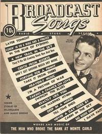 """GROUP OF 16 ISSUES OF """"BROADCAST SONGS"""":; Radio, Stage, Screen"""