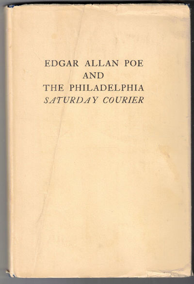 Charlottesville: University of Virginia, 1933. First edition (Ex-libris Alfred Sutro). Hardcover. Ve...