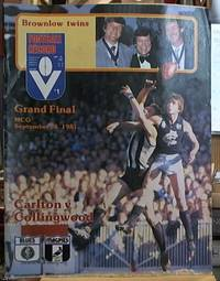 Football Record  -- Grand Final, Carlton versus Collingwood, MCG, September 26, 1981, Volume 70, Number 45