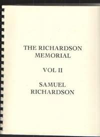 image of The Richardson Memorial, Volume II - Samuel Richardson