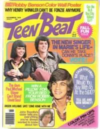 TEEN BEAT November 1976, Vol. 1, No. 4