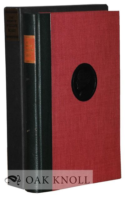 New York: The Limited Editions Club, 1973. quarter leather, leather spine label, cameo portrait on f...