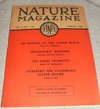 image of Nature Magazine for January 1937