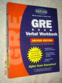 image of GRE Exam VERBAL WORKBOOK (SECOND EDITION)