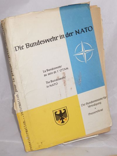 Bonn: , 1961. Press packet in 12x8 inch color cardstock folder containing translated-to-English stat...