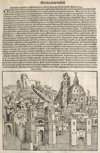 image of Liber chronicarum- Nuremberg Chronicle, an individual page from the Chronicle featuring Nicea or An Expedition for the Relief of Jerusalem Made in the time of Pope Urban the Second in the Year 1094., Plate No. CXCIIII