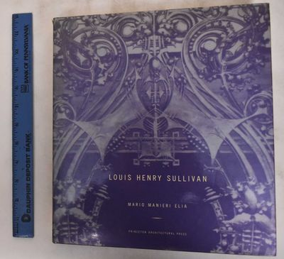New York, NY: Princeton Architectural Press, 1996. Hardcover. VG/VG-, dj has bumping and small tear ...