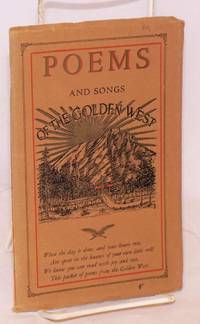 image of Poems and Songs of the Golden West