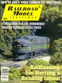 Railroad model Craftsman Magazine March 2002