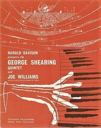 THE GEORGE SHEARING QUINTET AND JOE WILLIAMS AND THE JUNIOR MANCE TRIO:  On a Tour of Great Britain, September-October 1962.  [souvenir program]; Souvenir Programme