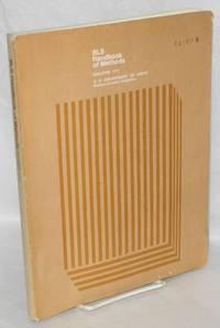 BLS [Bureau of Labor Statistics] Handbook of Methods