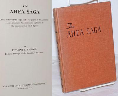 Washington DC: American Home Economics Association, 1949. Hardcover. vii, 108p., minor shelf wear, p...