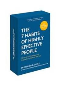 image of The 7 Habits of Highly Effective People: 30th Anniversary Card Deck