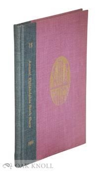15TH ANNUAL PHILADELPHIA BOOK SHOW