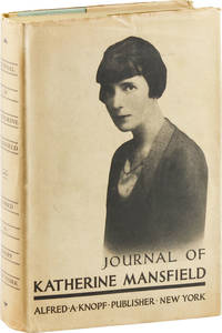 Journal of Katherine Mansfield by MANSFIELD, Katherine (author) and J. Middleton Murry - 1927