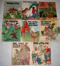 Porzellan Birchcroft China Bedtime Stories Fingerh/üte Miniatur 3 St/ück