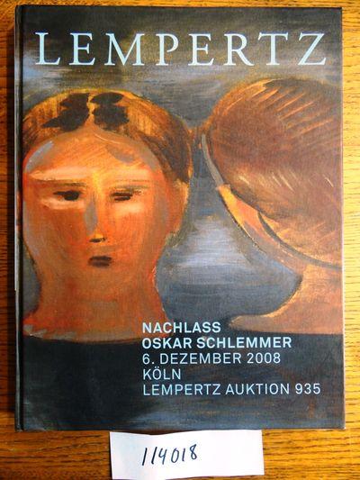 Köln (Cologne), Germany: Lempertz, 2008. Hardcover. NF. Color-illustrated boards with pale blue let...