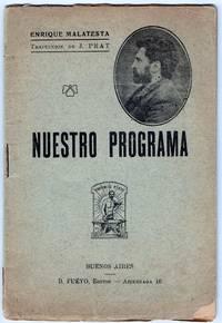 image of Nuestro Programa. Traducción de J. Prat.
