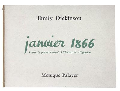 Janvier 1866. Lettre & Poème...