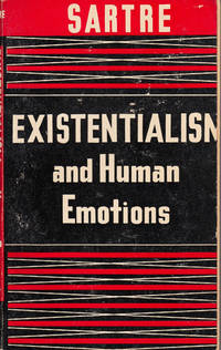 Existentialism and Human Emotions by Jean-Paul Sartre - Paperback - First edition thus - 1957 - from 3 R's Books and Antiques and Biblio.com