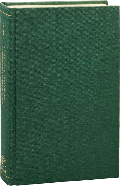 New York: Garland Publishing, 1982. First Edition. First Edition. Very Good plus, with no dust jacke...