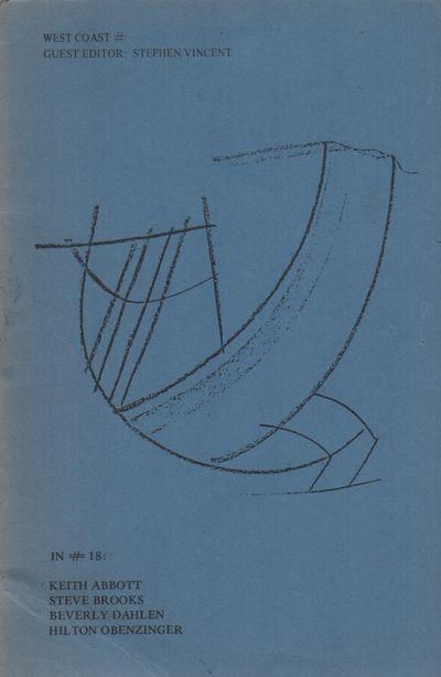 (New York): (# Magazine), (1981). First Edition. Wraps. Very good. 8vo. Saddle-stapled wraps. Promot...