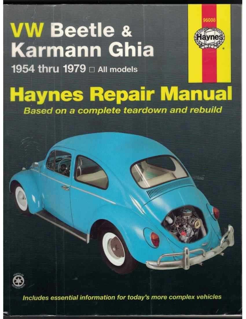 9781850107293 - VW Beetle & Karmann Ghia 1954 through 1979 All Models  (Hayne's Repair Manual) by Ken Freund; Mike Stubblefield; John H. Haynes