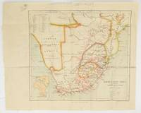 """A colour map of 'South & East Africa to accompany """"Through South Africa"""" by Mr. Henry M. Stanley, M.P.'"""