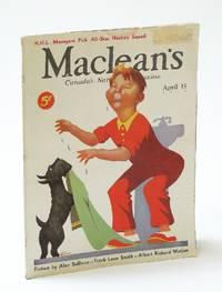 Maclean's, Canada's National Magazine, April (Apr.) 15, 1935, Vol. 48, No. 8 - Norwegians Develop Bella Coola, B.C. / N.H.L. All-Stars