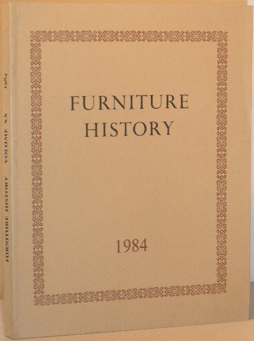 Furniture history the journal of the furniture history for Furniture history society