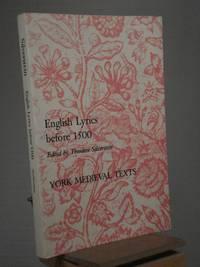 English Lyrics Before 1500 (York Medieval Texts. Second Series)