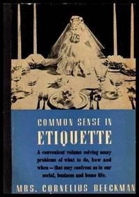 COMMON SENSE IN ETIQUETTE