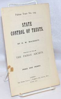 image of State Control of Trusts