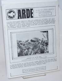 ARDE: en lucha por el rescate democratico de la revolucion Nicaraguense. No. 1 (Junio de 1985)
