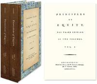 Principles of Equity. Third Edition. 2 Vols. Edinburgh, 1778