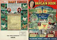 image of JIM BROWN'S BARGAIN BOOK, THE BROWN FENCE & WIRE CO.