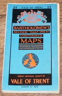 "image of Vale of Trent - Bartholomew's Revised ""Half-Inch"" Contoured Maps, Great Britain Sheet 24"