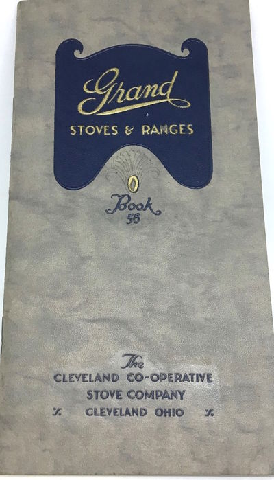 Cleveland: The Cleveland Co-Operative Stove Co., 1923. Staplebound. Orig. gray faux leather, embosse...