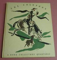 The Colophon A Book Collectors' Quarterly (Part fifteen)