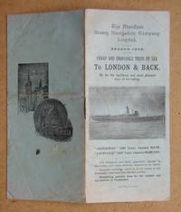 The Aberdeen Steam Navigation Company. Season 1938 Booklet.