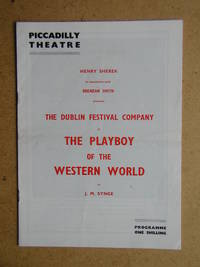 The Dublin Festival Company in The Playboy of the Western World By J. M. Synge. Theatre Programme.